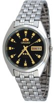 Orient #FEM0401NB Men's Tri Star Black Dial Standard Self Winding Automatic Watch
