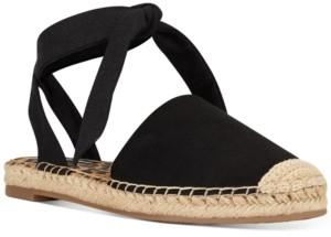 Nine West More Ankle-Tie Espadrille Flats Women's Shoes