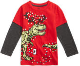 Epic Threads Dino Light Graphic-Print Shirt, Toddler Boys (2T-5T), Created for Macy's