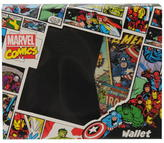 Marvel Retro Red Bi Fold Wallet Mens