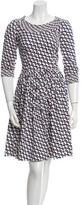 Prada Printed Knee-Length Dress