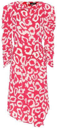 Isabel Marant Carley printed dress