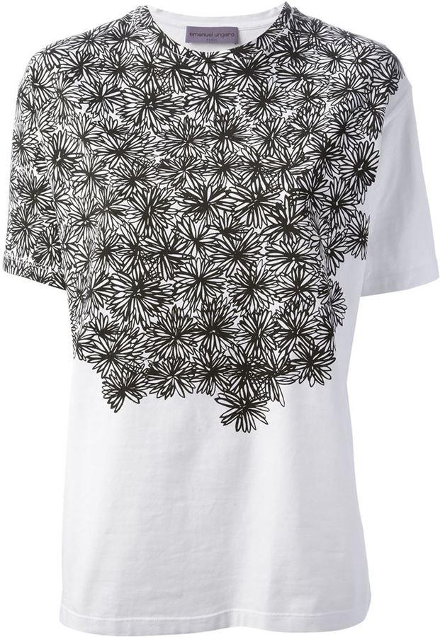 Ungaro floral print t-shirt