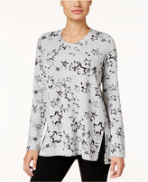 Style&Co. Style & Co. Petite Stars-Print T-Shirt, Only at Macy's