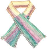 M Missoni ribbed knit scarf - women - Cotton/Polyamide - One Size