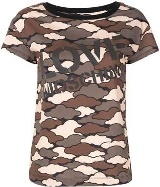 Love Moschino Military Cloud T-shirt