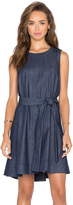 Kate Spade Denim Belted Mini Dress