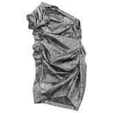 Isabel Marant Silver Wool Dress