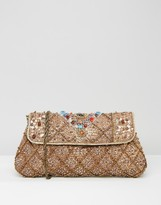 Raga Embellished Cora Clutch Bag