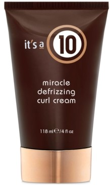 It's A 10 Miracle Defrizzing Curl Cream, 4-oz, from Purebeauty Salon & Spa
