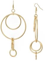 Aqua Mallory Circles Drop Earrings - 100% Exclusive