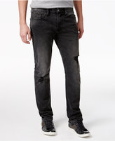 GUESS Men's Slim-Fit Straight Slate Black Jeans