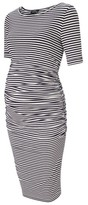 Isabella Oliver Women's Arlington Stripe Maternity Dress