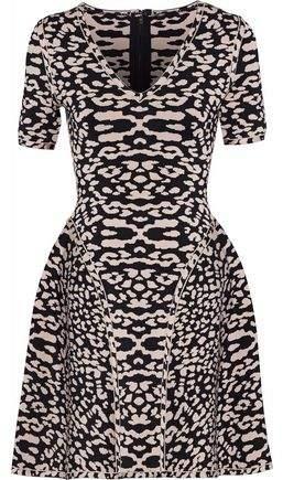 2389c9fbacd Herve Leger Jacquard Dresses - ShopStyle