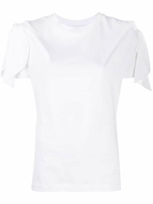 Marques Almeida petal sleeve T-shirt