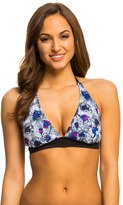 Oakley Women's Wildflowers DCup Halter Bikini Top - 8137172