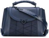 Salvatore Ferragamo triangle panel shoulder bag - women - Leather - One Size