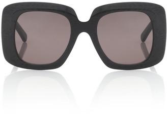 Balenciaga Oversized acetate sunglasses