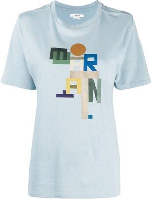 Etoile Isabel Marant Zewel logo-print cotton T-shirt