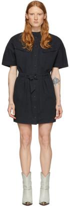 Etoile Isabel Marant Black Zolina Dress