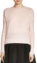 Maje Midy Tonal Stripe Sweater
