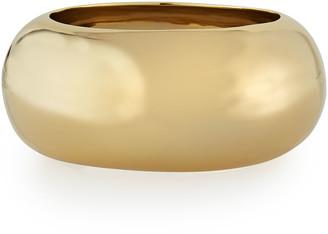 Alexis Bittar Large Liquid Golden Bangle