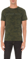 Michael Kors Camo-print Cotton-jersey T-shirt