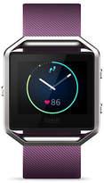 Fitbit Small Blaze Smart Fitness Polyurethane Strap Watch