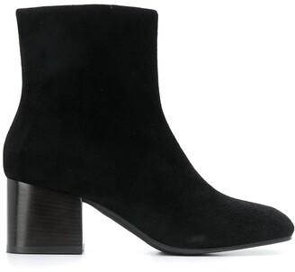 Marni Square-Toe Ankle Boots