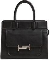Tod's Medium Double Tt Leather Top Handle Bag