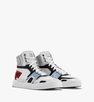 MCM Men's Skyward High-Top Sneakers