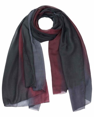 Basic Sense Luxurious Premium Beautiful Super Soft Ombre Colour Lightweight Oversized Shawl Scarf made in South Korea