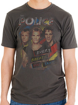 Goodie Two Sleeves Gray the Police Every Breath Relic Tee - Men's Regular