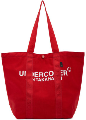 Undercover Red Small Logo Tote