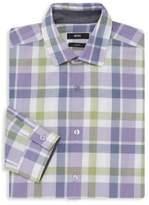 Nemos Slim-Fit Check Dress Shirt
