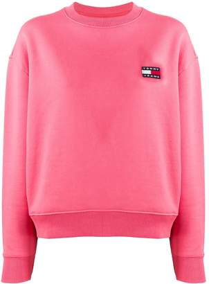 Tommy Jeans embroidered logo sweater