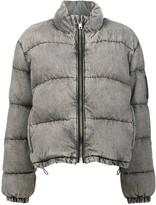 Alexander Wang bleached puffer jacket