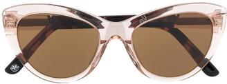 Vuarnet Cat-Eye Frame Sunglasses