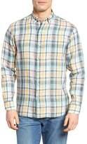 Tommy Bahama Romario Standard Fit Plaid Linen Sport Shirt