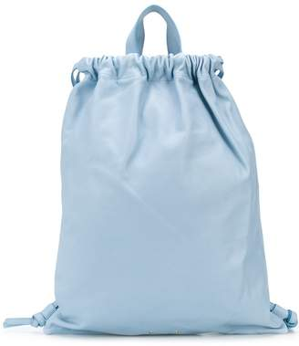 Pb 0110 ruched leather backpack
