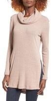 Astr Women's Cowl Neck Pullover