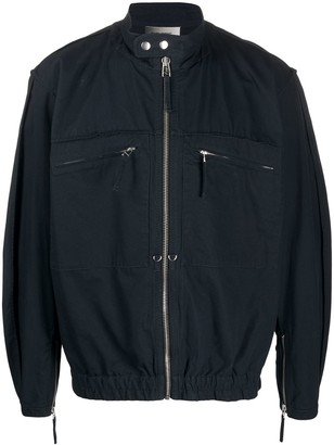 Isabel Marant Zip-Pocket Bomber Jacket