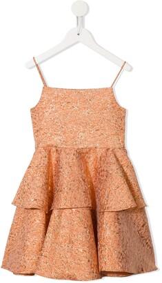 Little Bambah Marigold ruffled dress