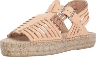 Loeffler Randall Women's Reid Woven Espadrille Sandal (Leather) Wedge