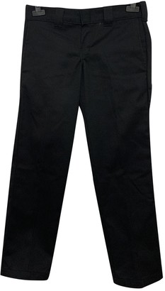 Dickies Black Cotton Trousers
