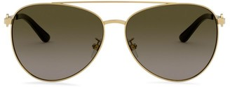 Tory Burch 58MM Aviator Sunglasses