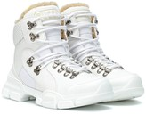 Gucci Flashtrek high-top leather sneakers