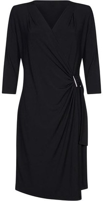 Yumi Slinky Wrap Dress