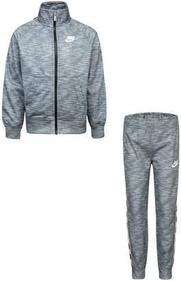 Nike Little Boy's 2-Piece Heathered Jacket Pants Set