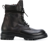 Rick Owens chunky lace-up boots - men - Calf Leather/Leather/rubber - 42